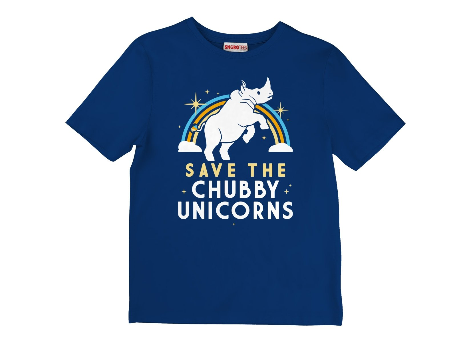 Save The Chubby Unicorns on Kids T-Shirt