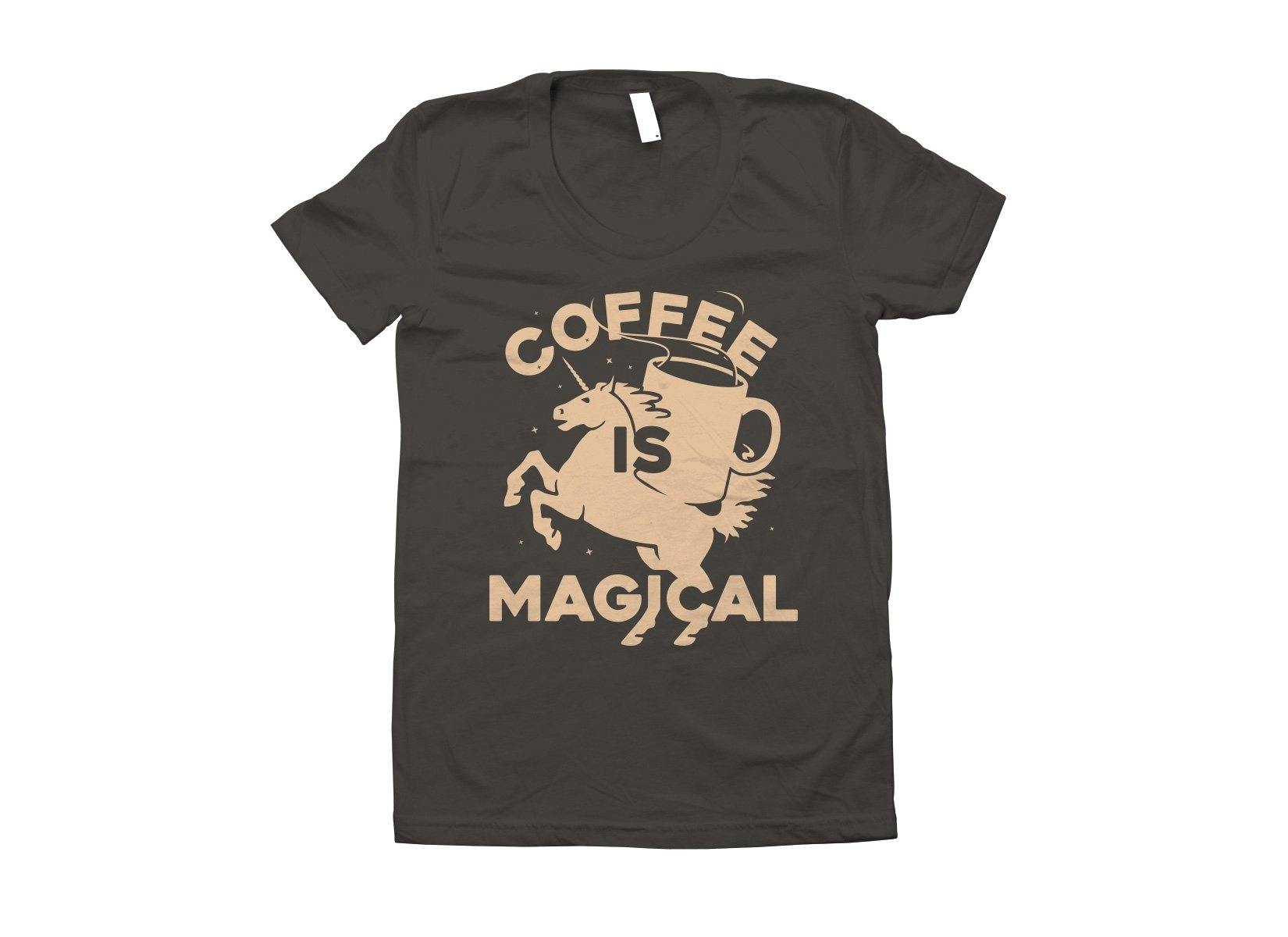 Coffee Is Magical on Juniors T-Shirt