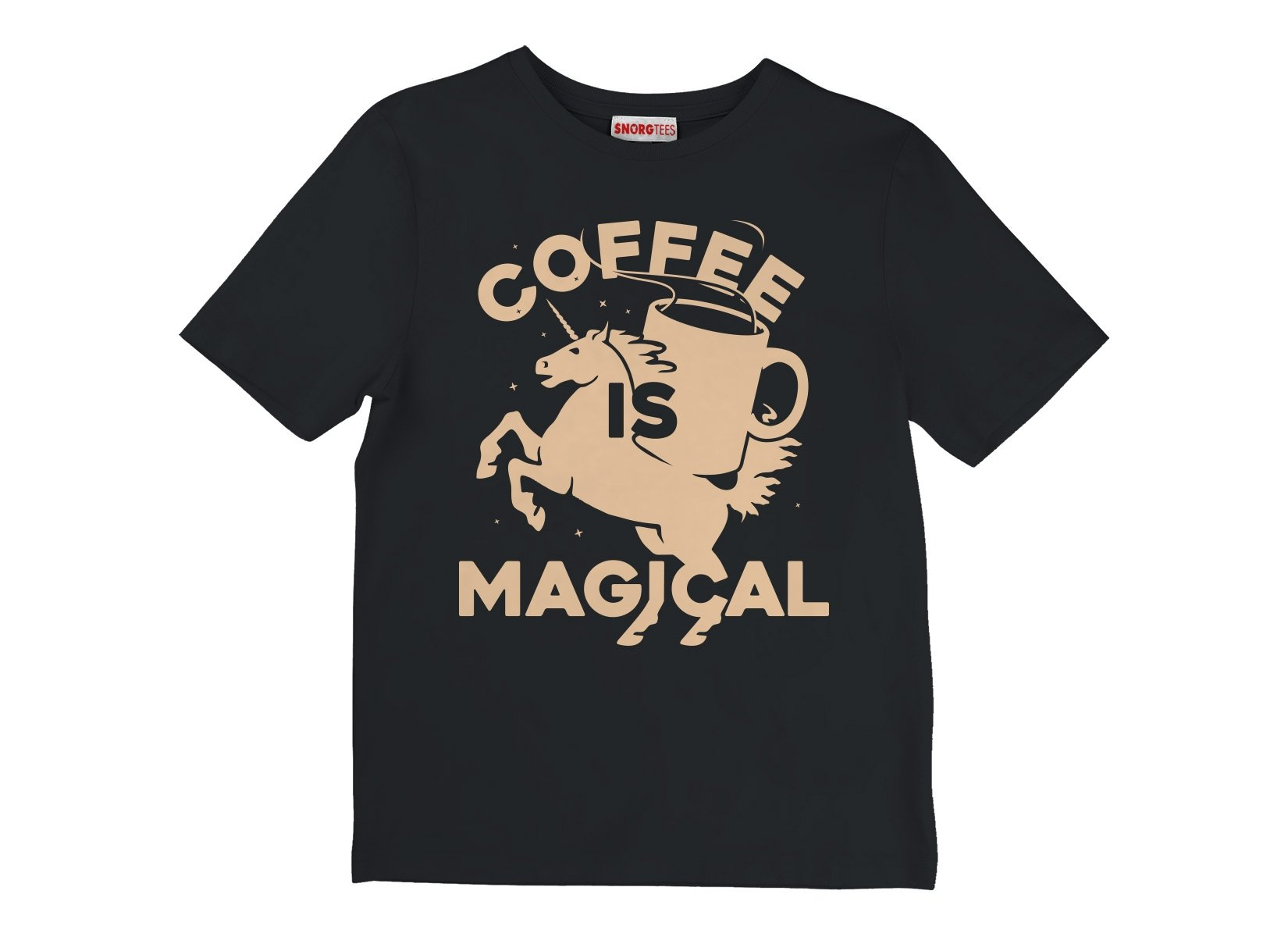 Coffee Is Magical on Kids T-Shirt