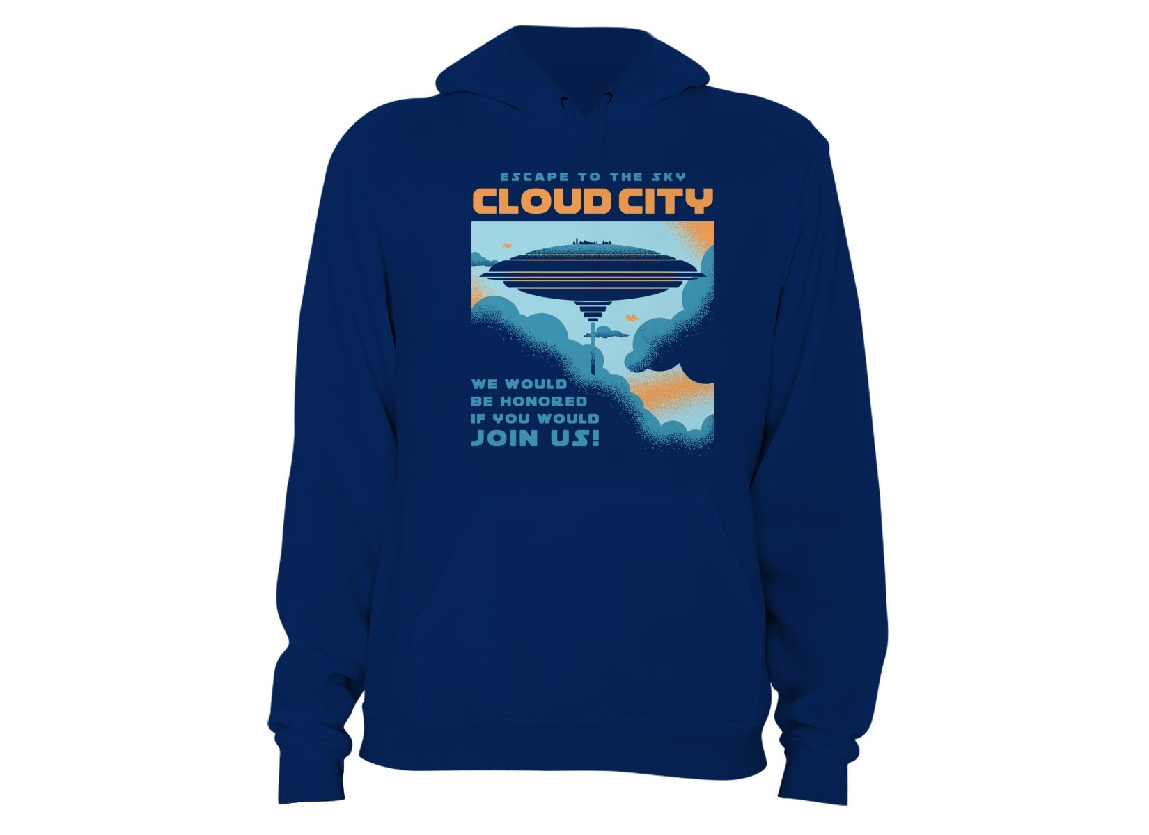 Cloud City on Hoodie