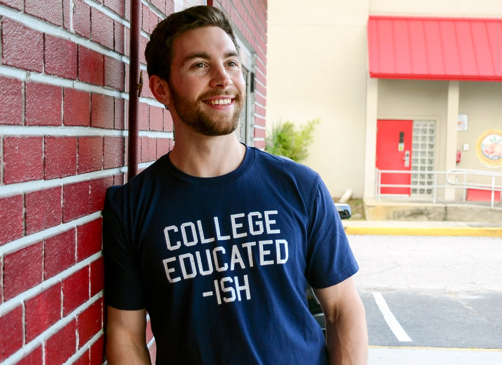 College Educated-ish on Mens T-Shirt