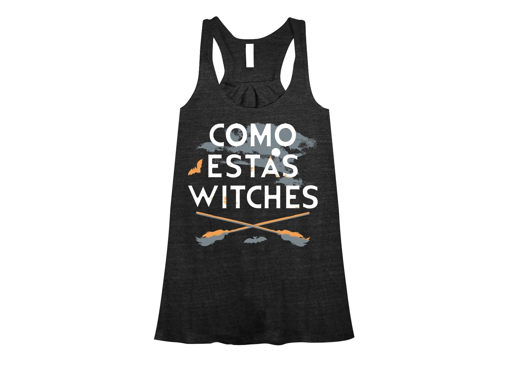 Como Estas Witches on Womens Tanks T-Shirt