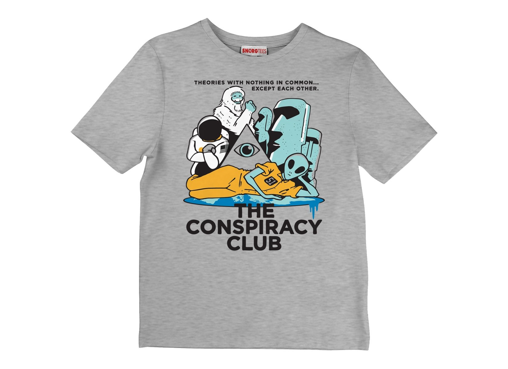 The Conspiracy Club on Kids T-Shirt