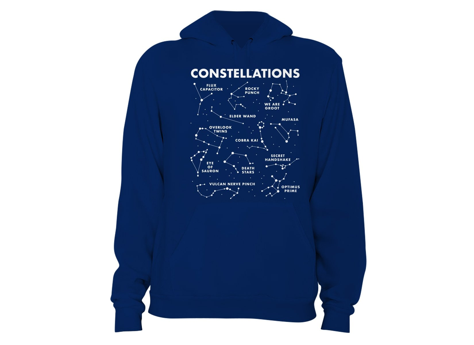 Constellations on Hoodie