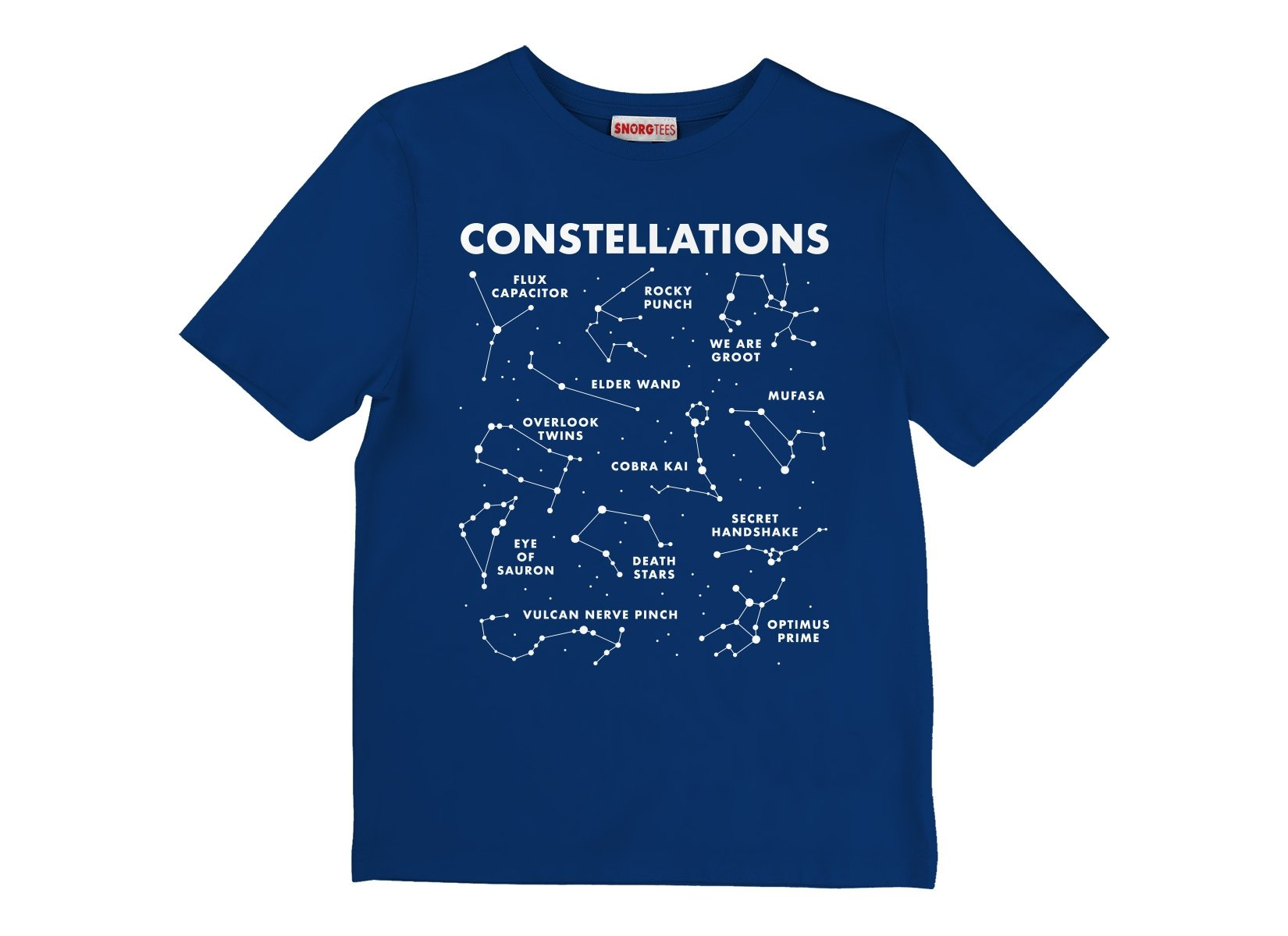 Constellations on Kids T-Shirt