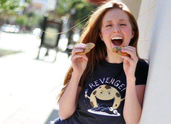 Cookie's Revenge on Juniors T-Shirt