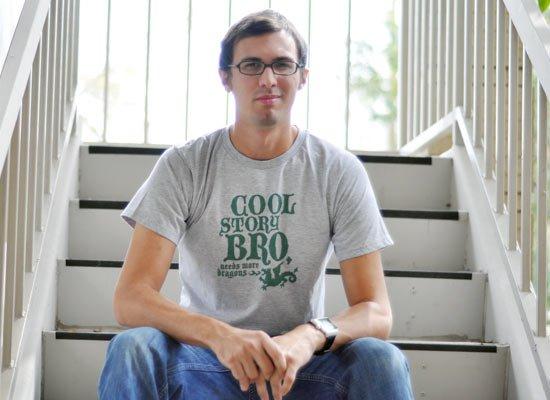 Cool Story Bro, Needs More Dragons on Mens T-Shirt