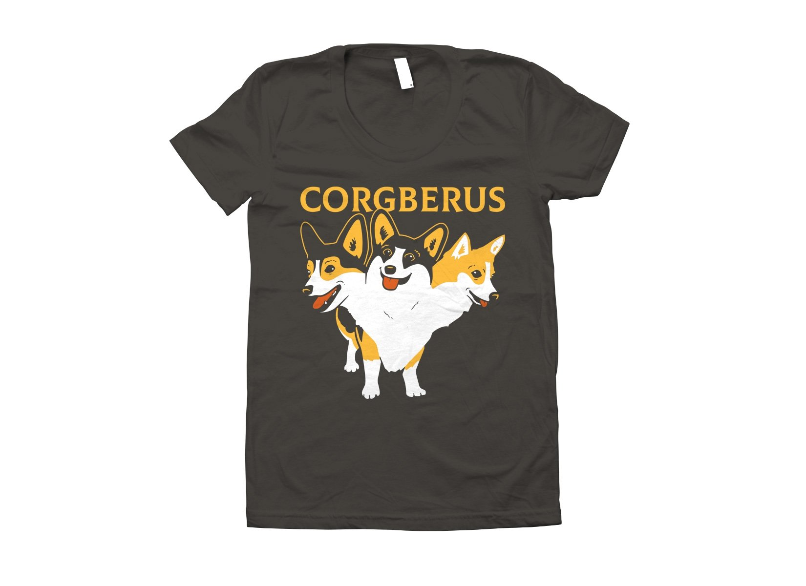 Corgberus on Juniors T-Shirt
