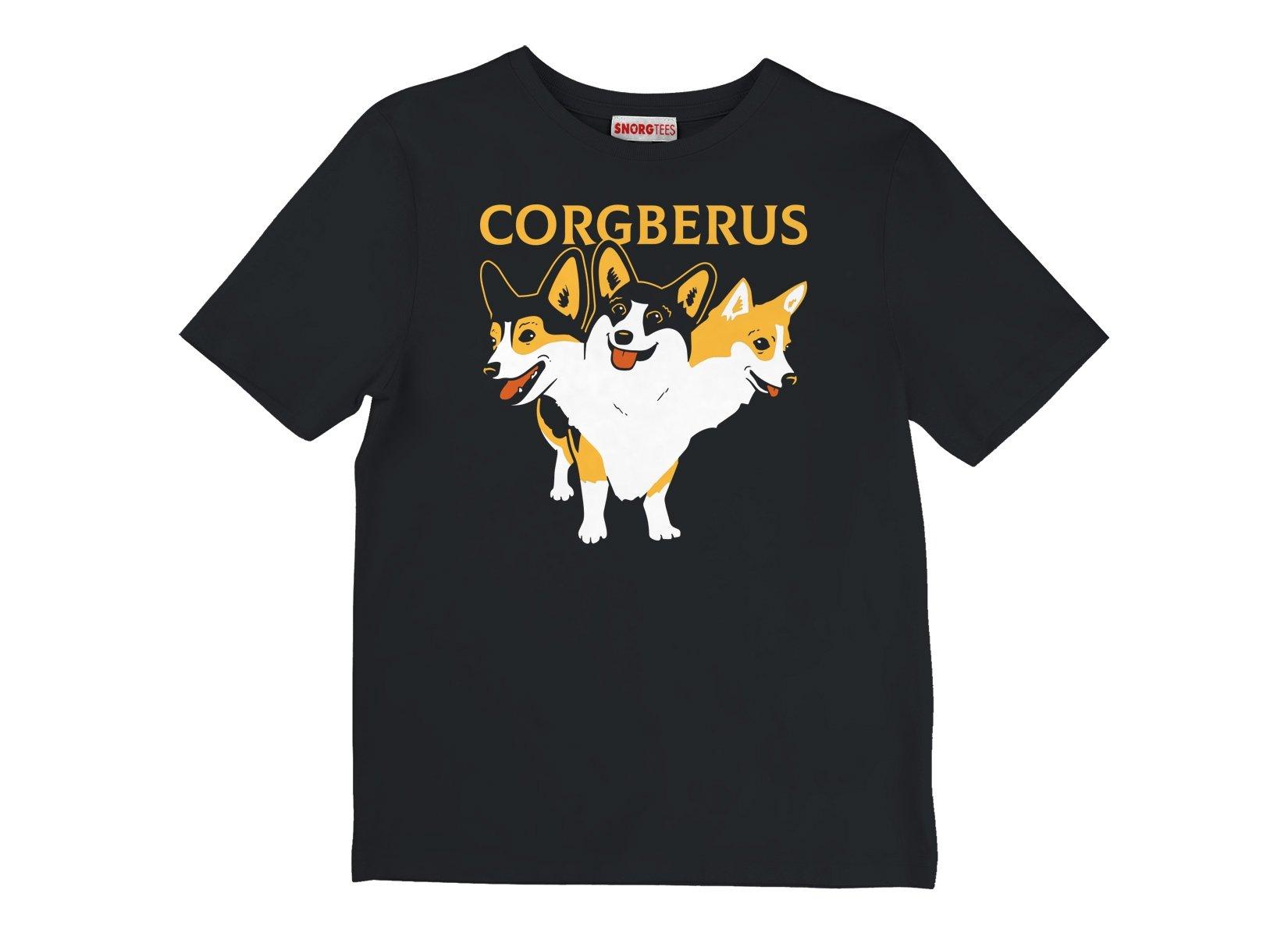 Corgberus on Kids T-Shirt