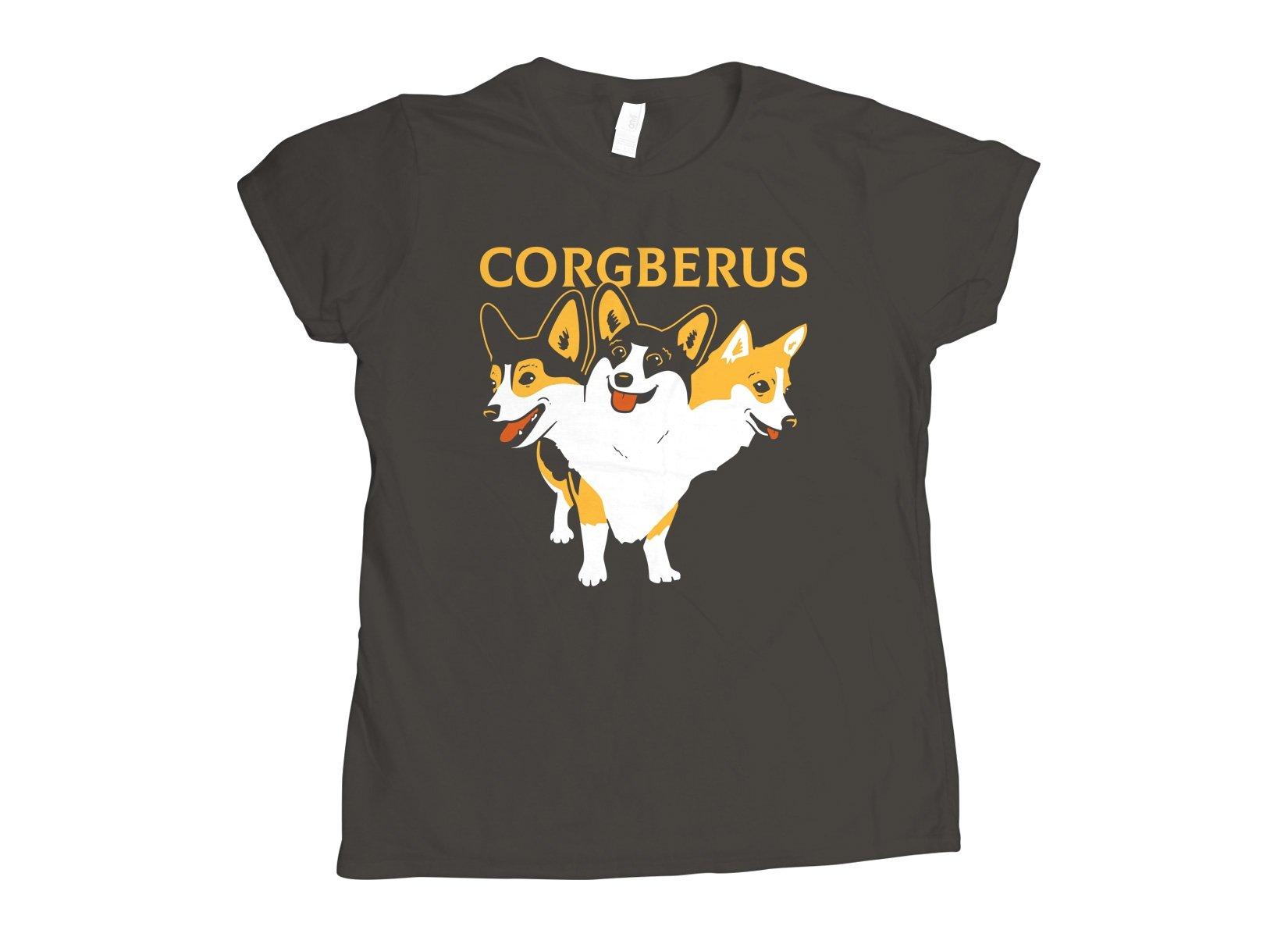 Corgberus on Womens T-Shirt