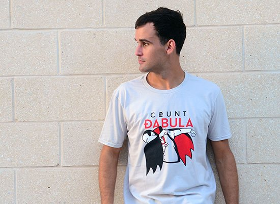 Count Dabula on Mens T-Shirt