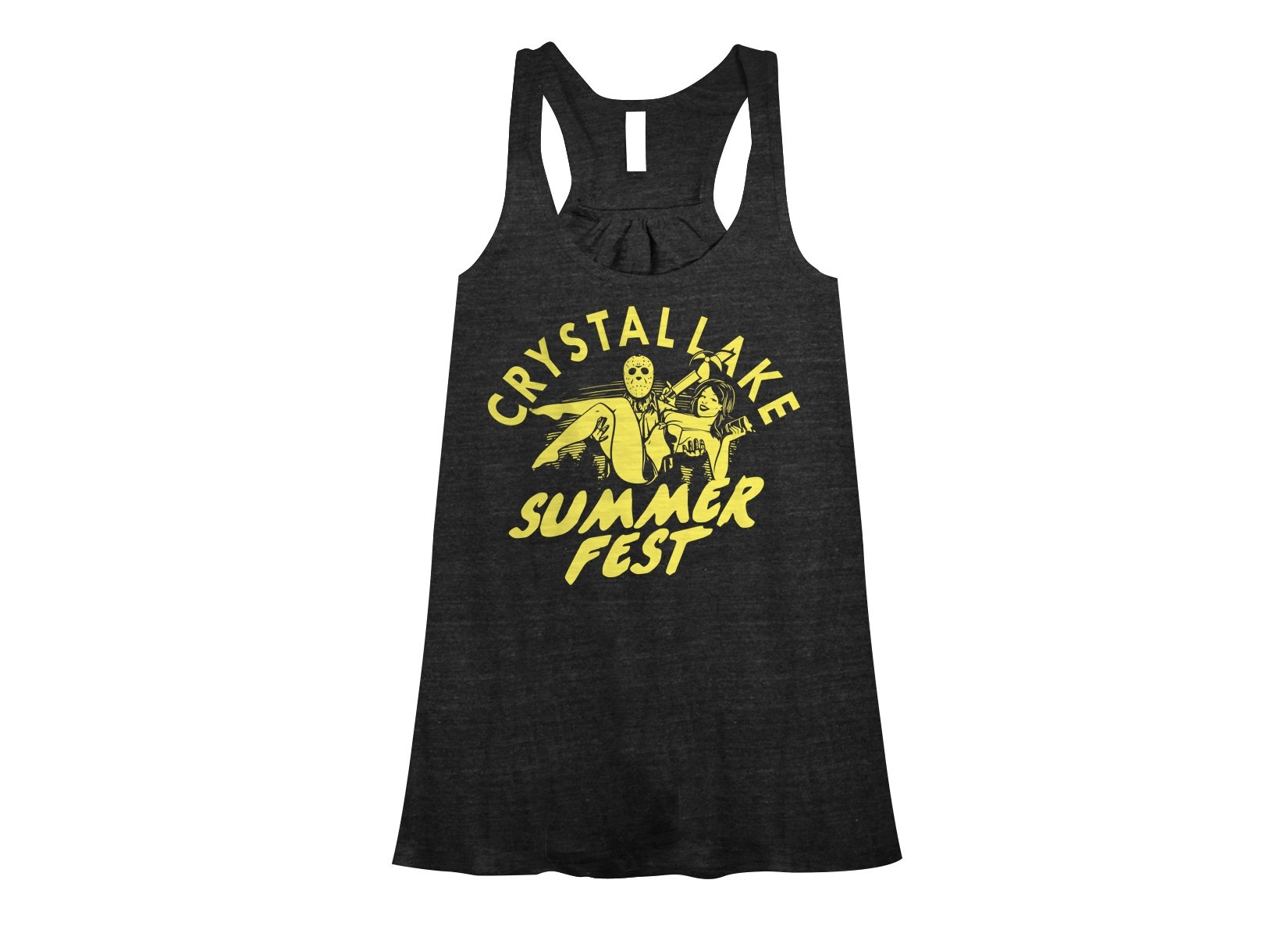Crystal Lake Summer Fest on Womens Tanks T-Shirt