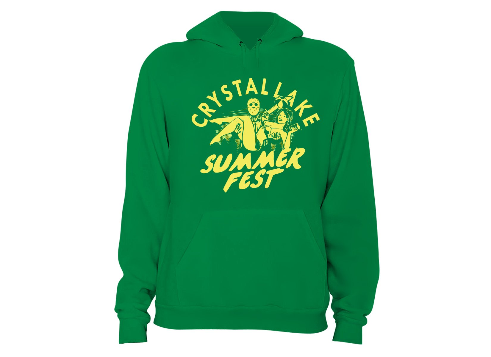 Crystal Lake Summer Fest on Hoodie