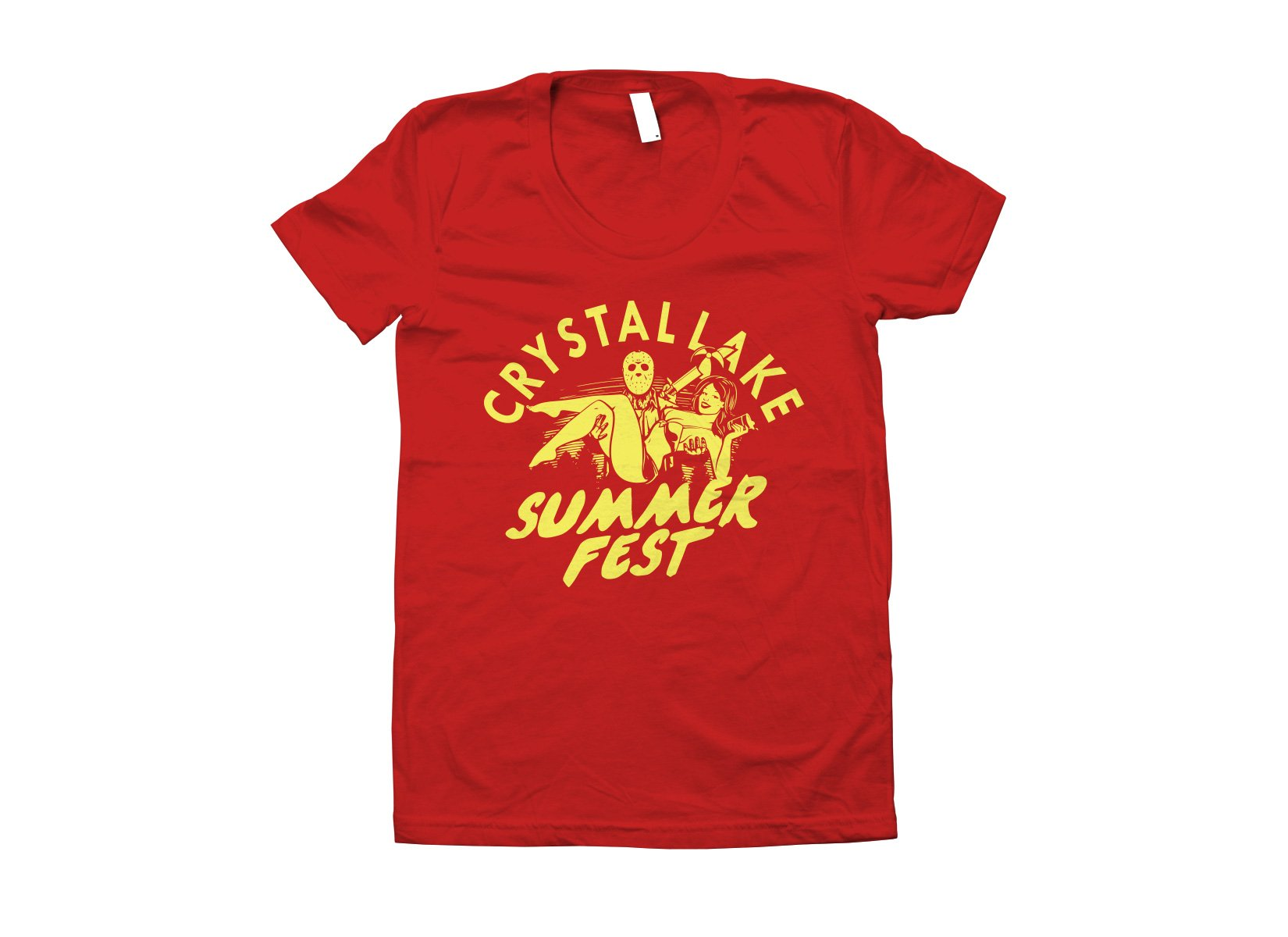 Crystal Lake Summer Fest on Juniors T-Shirt