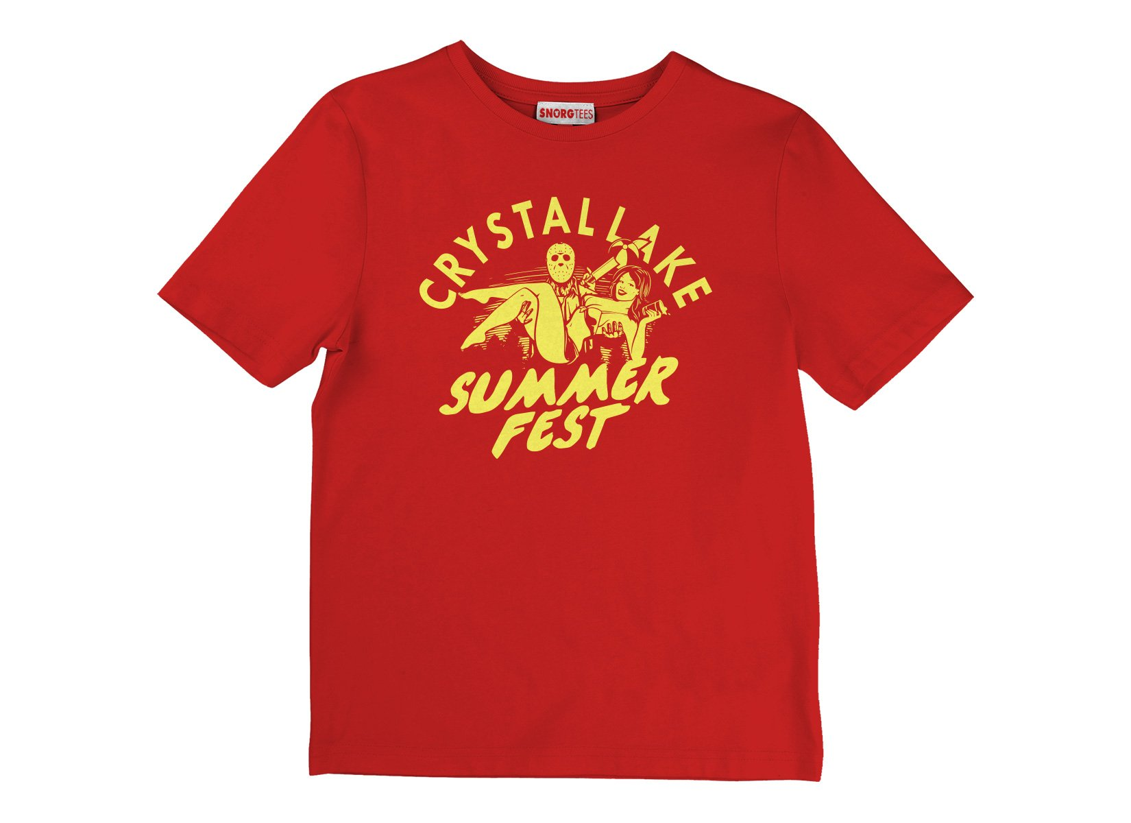 Crystal Lake Summer Fest on Kids T-Shirt