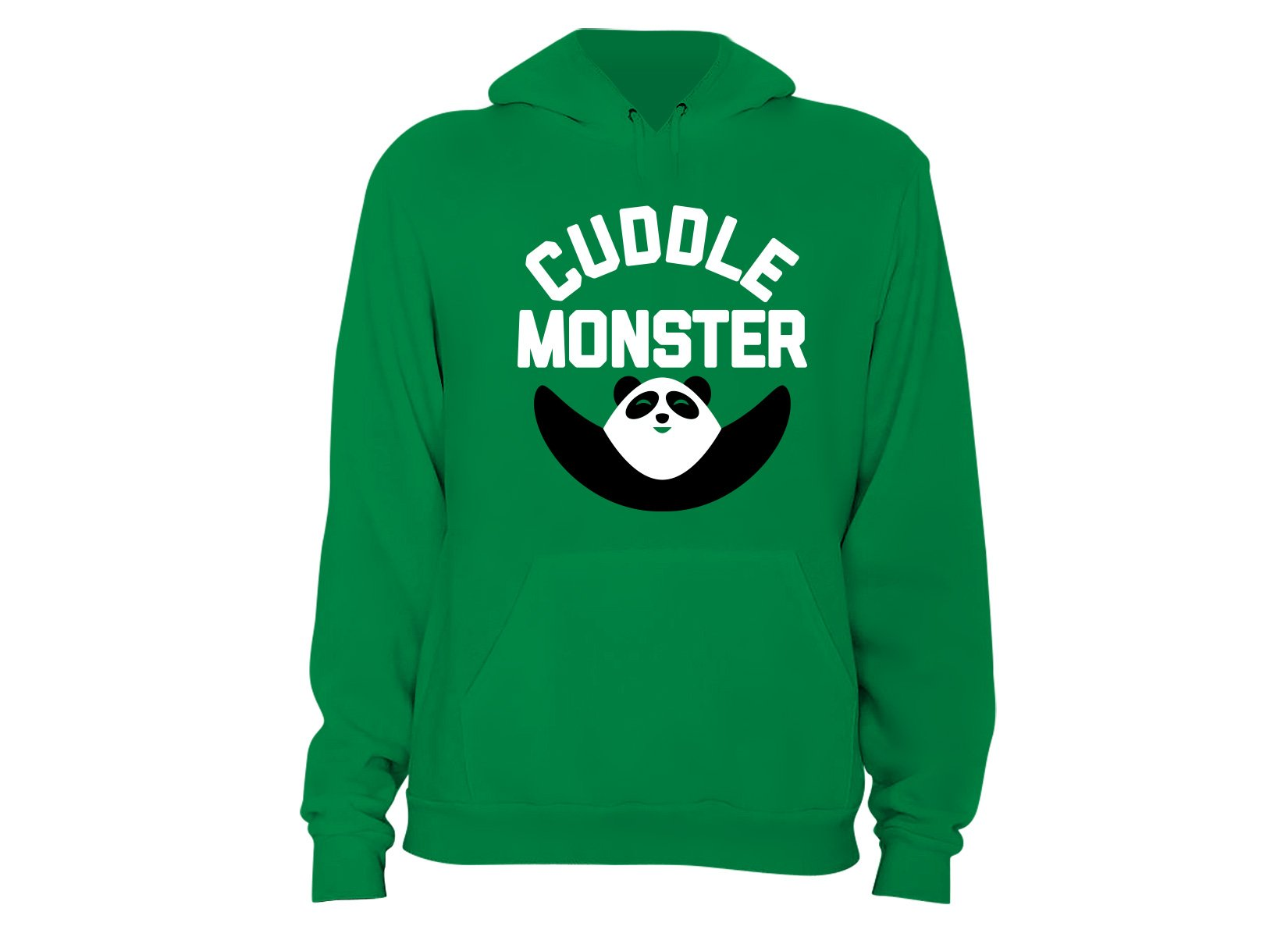 Cuddle Monster on Hoodie