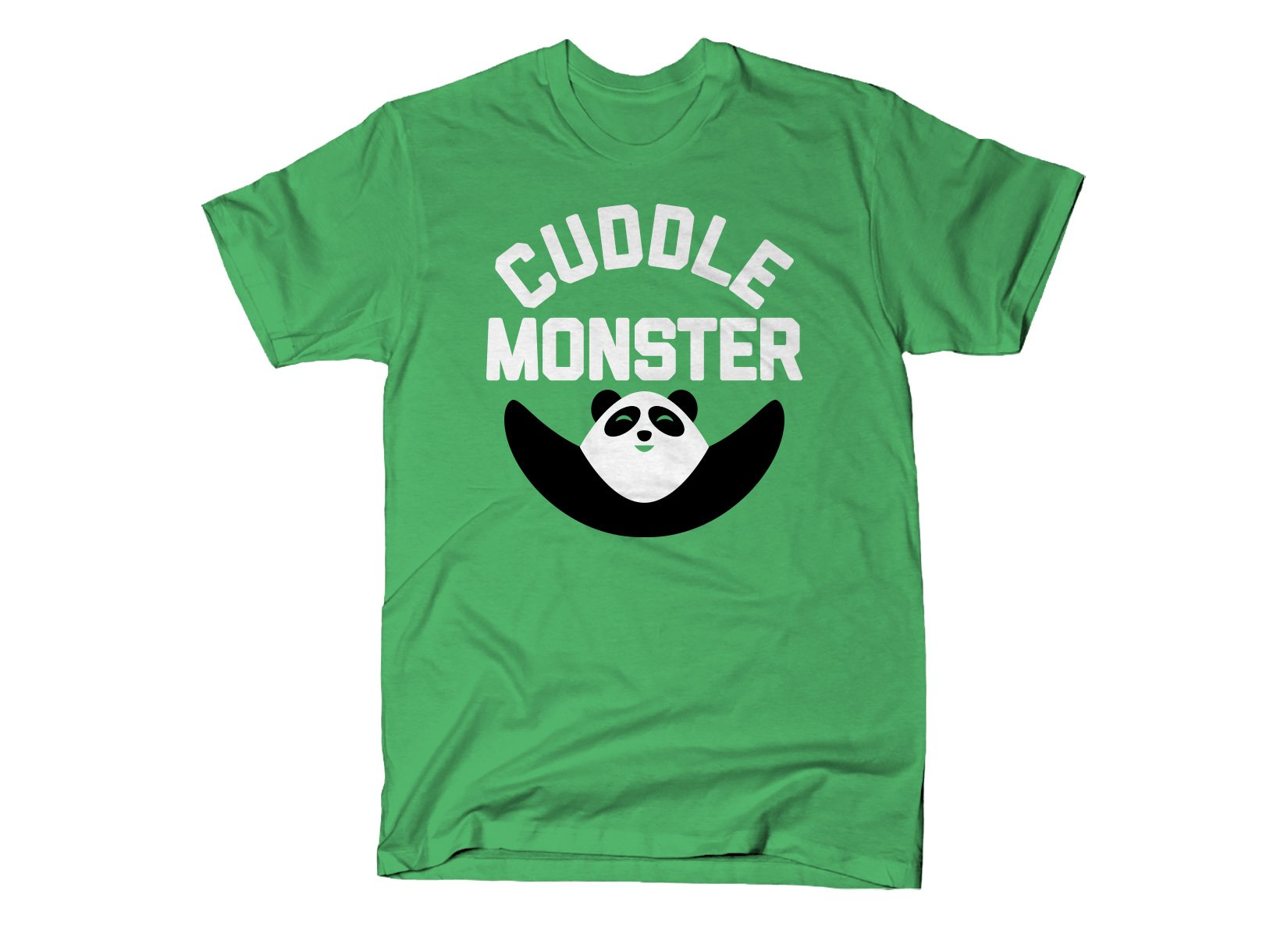 Cuddle Monster on Mens T-Shirt