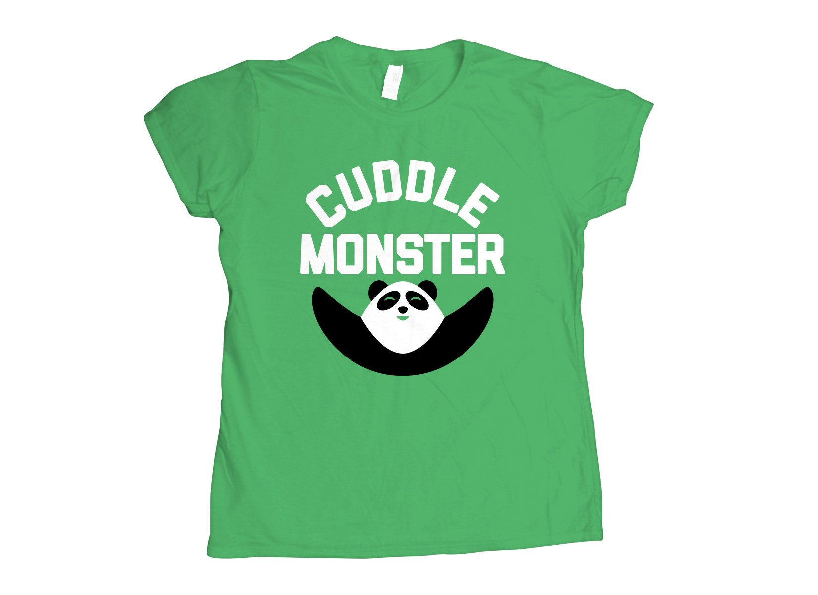 Cuddle Monster on Womens T-Shirt