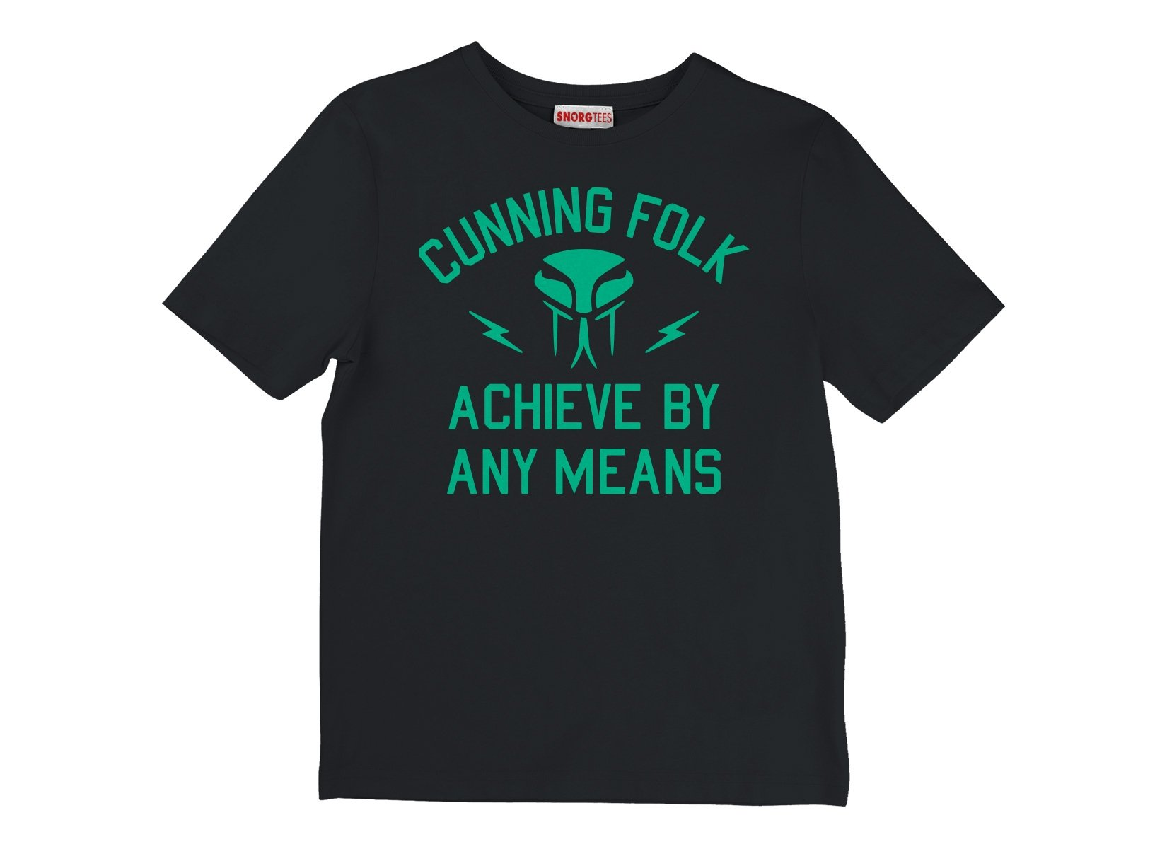 Cunning Folk Achieve By Any Means on Kids T-Shirt