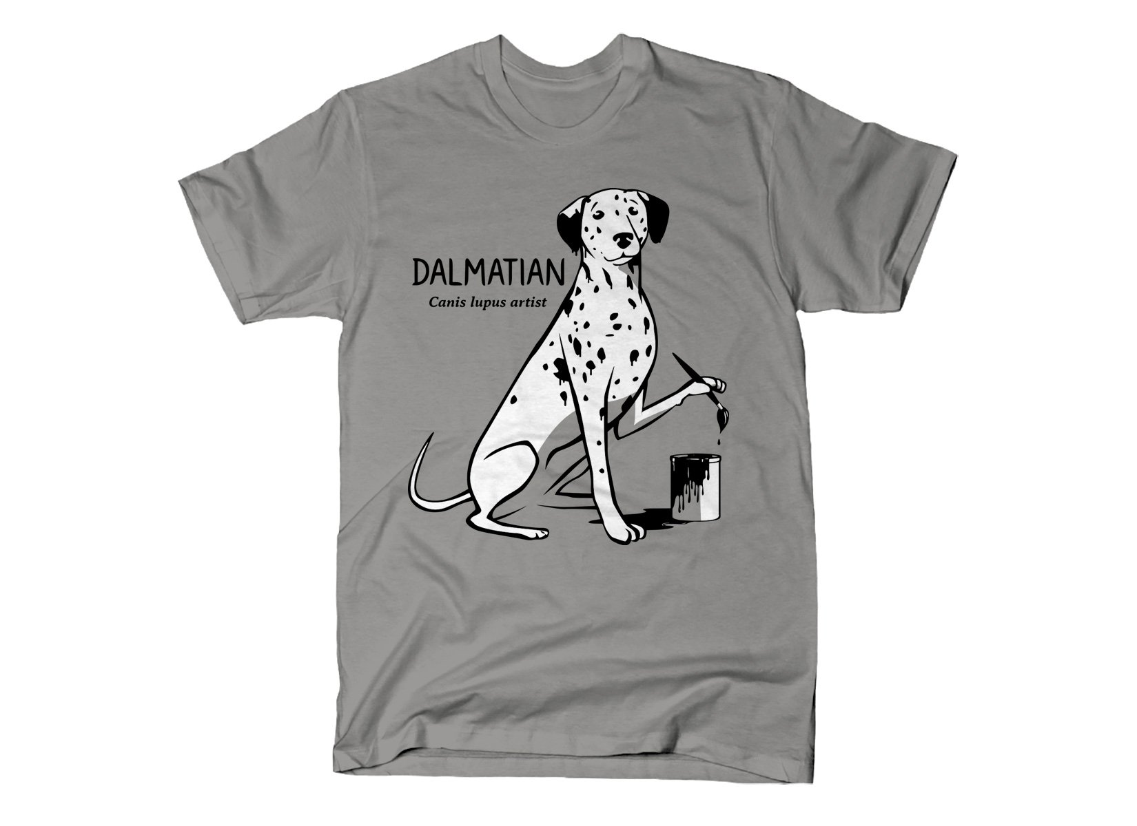 How Dalmatians Are Made on Mens T-Shirt