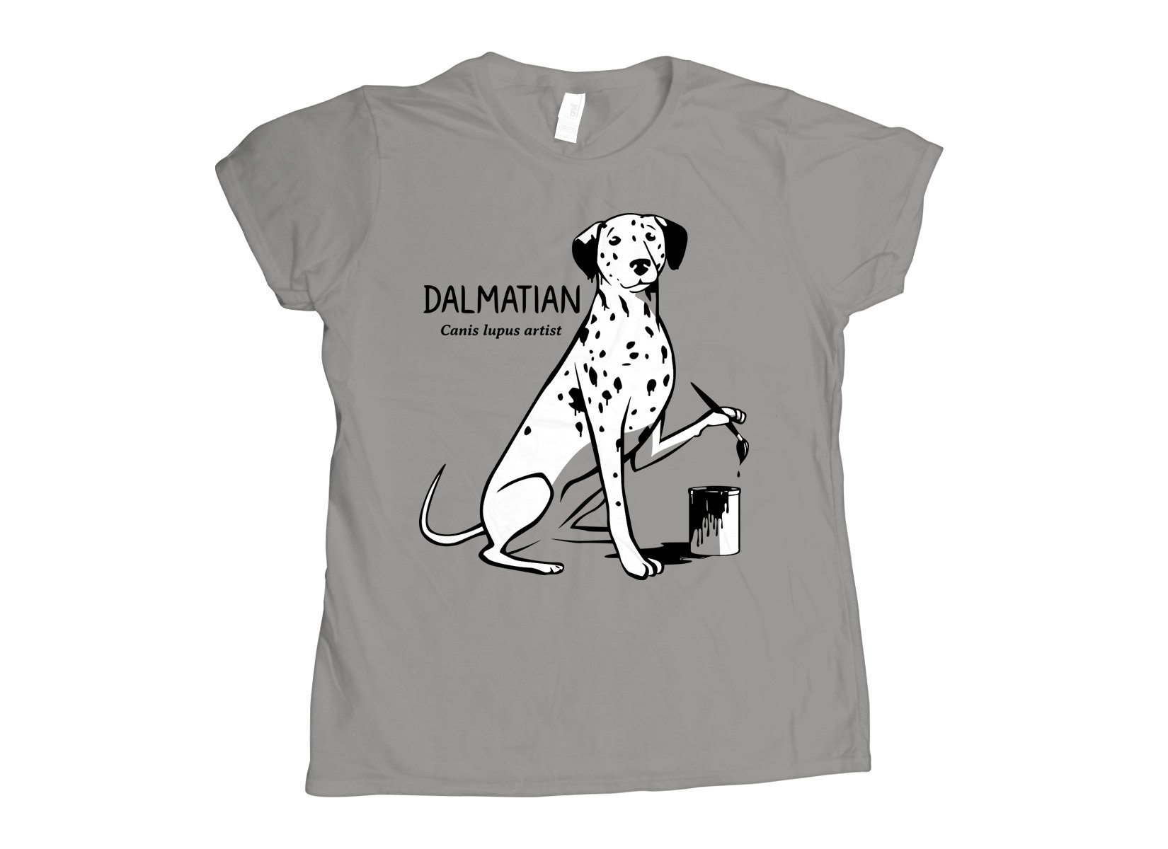 How Dalmatians Are Made on Womens T-Shirt