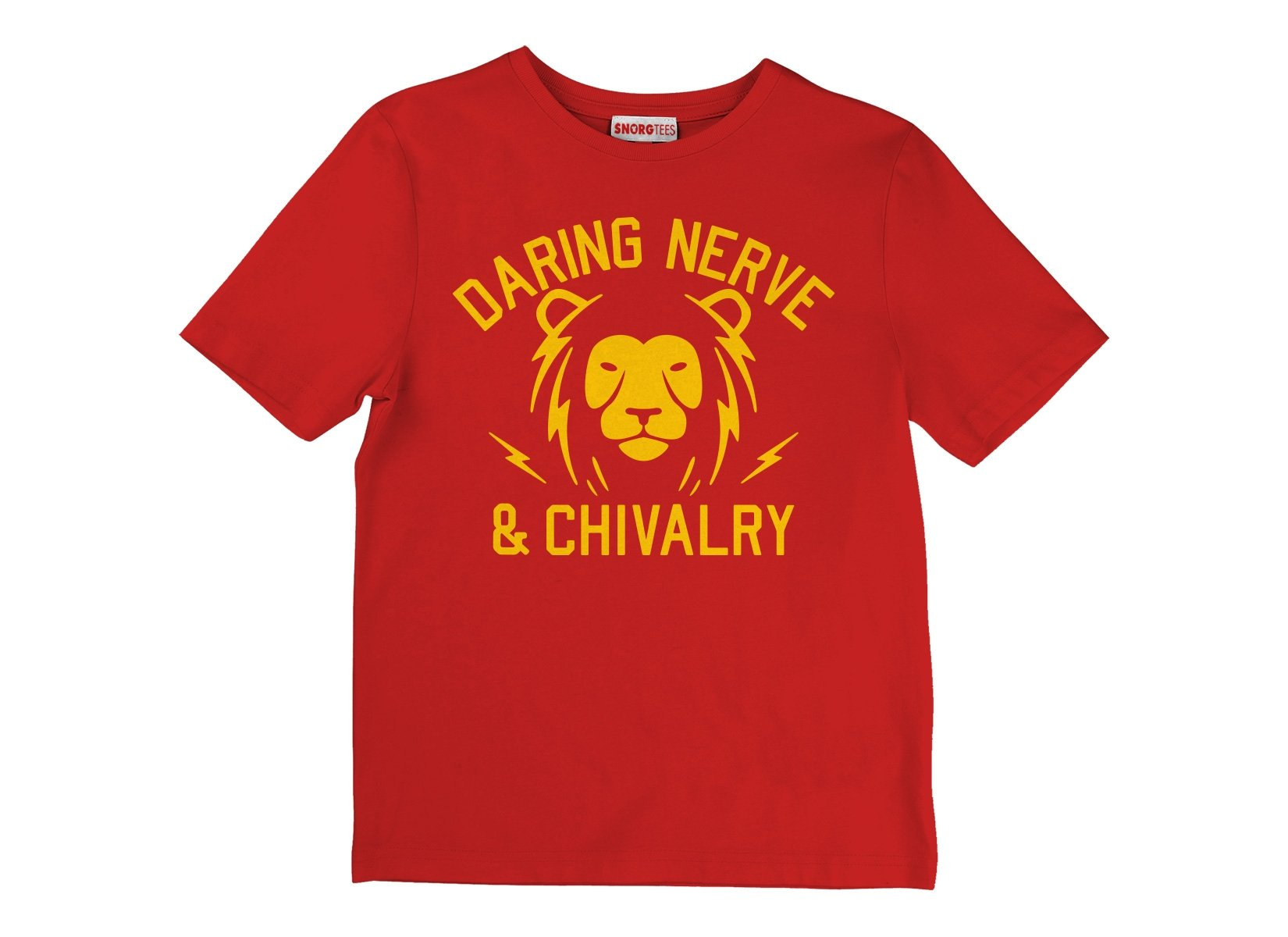 Daring, Nerve, And Chivalry on Kids T-Shirt