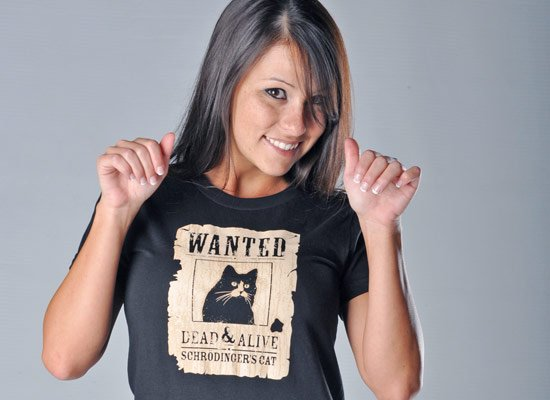 Wanted Dead And Alive on Juniors T-Shirt