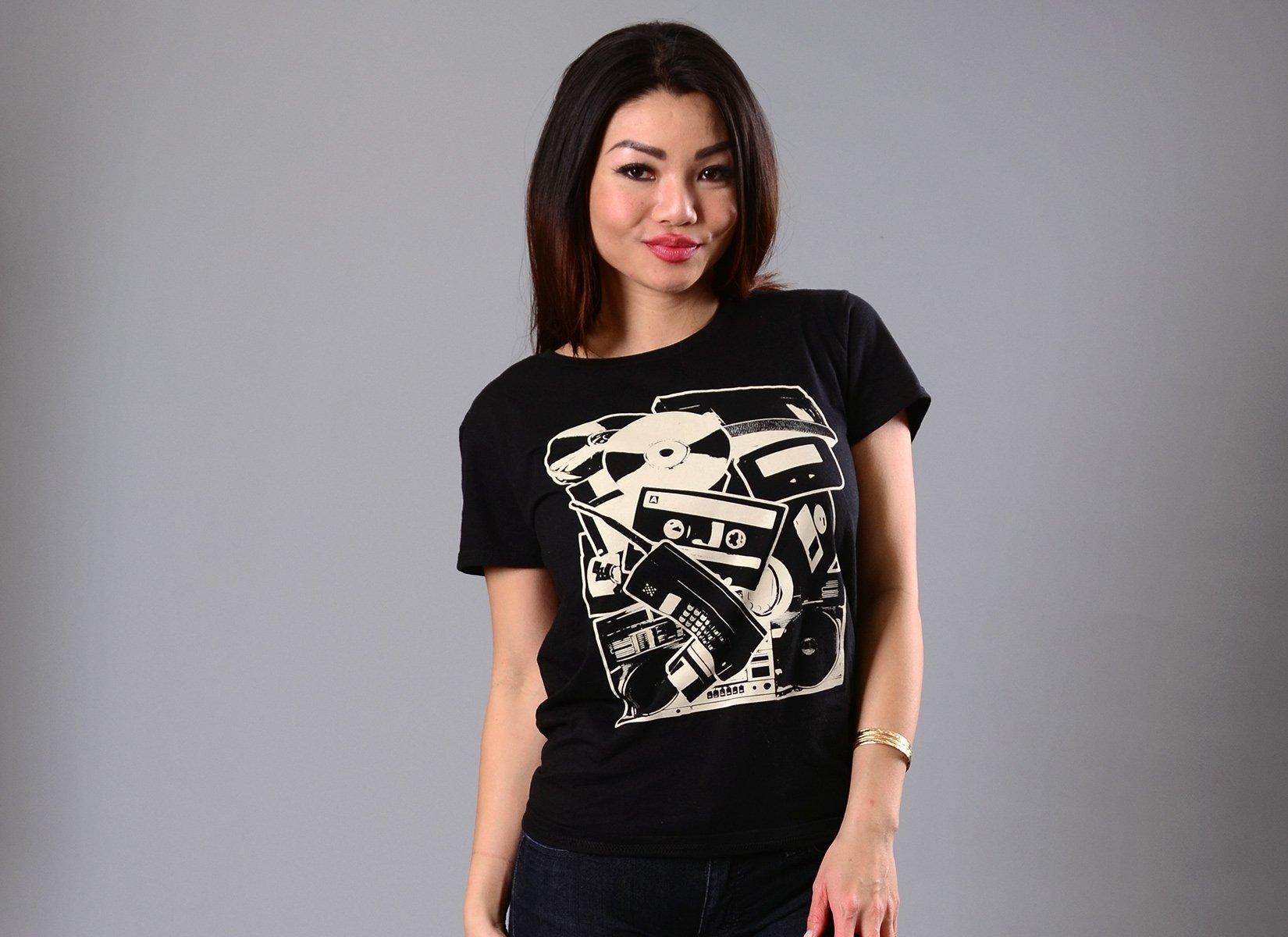 Dead Tech on Womens T-Shirt