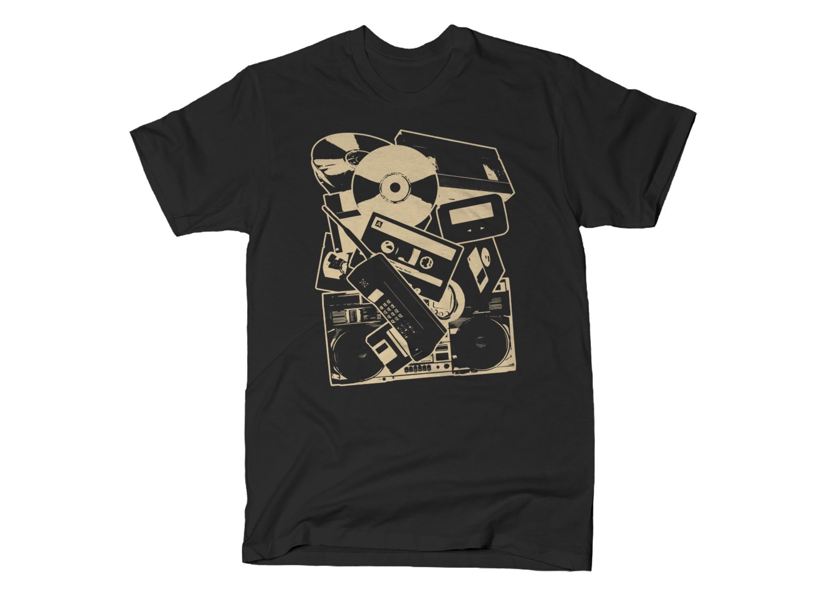 Dead Tech on Mens T-Shirt
