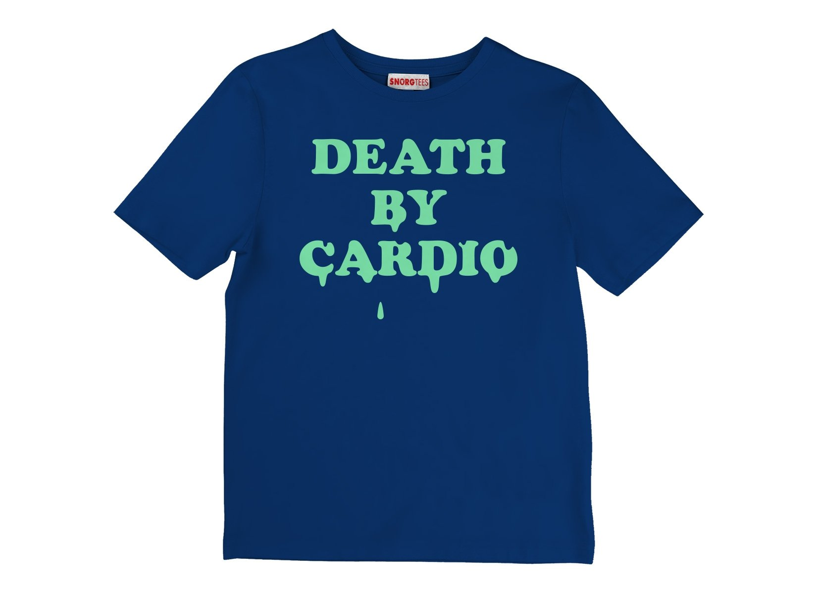 Death By Cardio on Kids T-Shirt