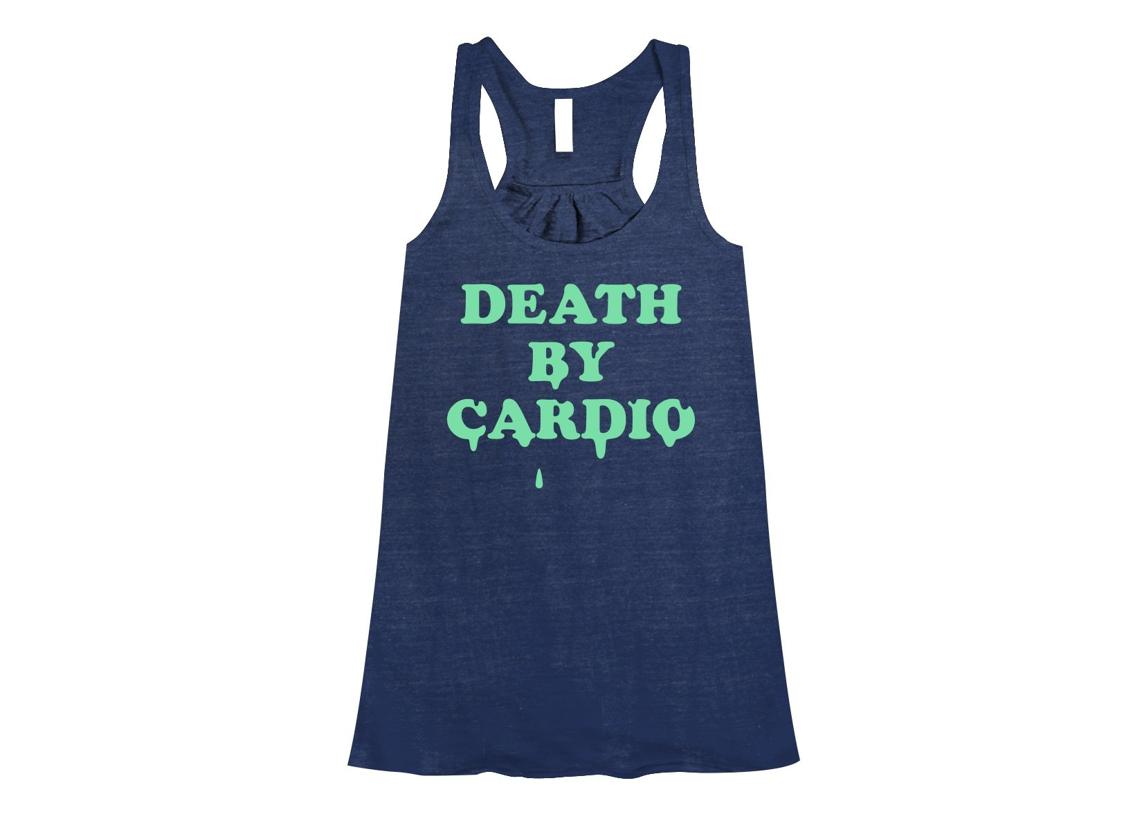 Death By Cardio on Womens Tanks T-Shirt