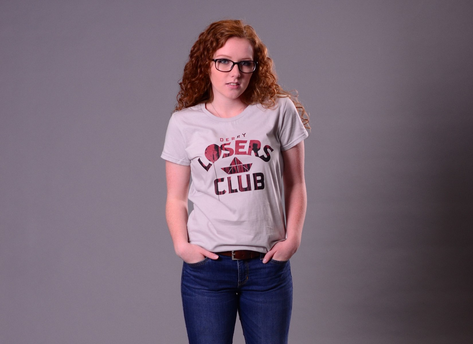 Derry Losers Club on Womens T-Shirt