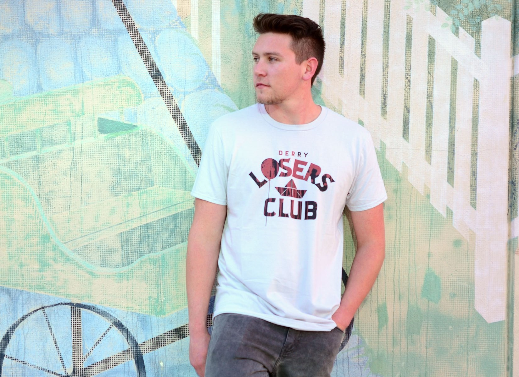 Derry Losers Club on Mens T-Shirt