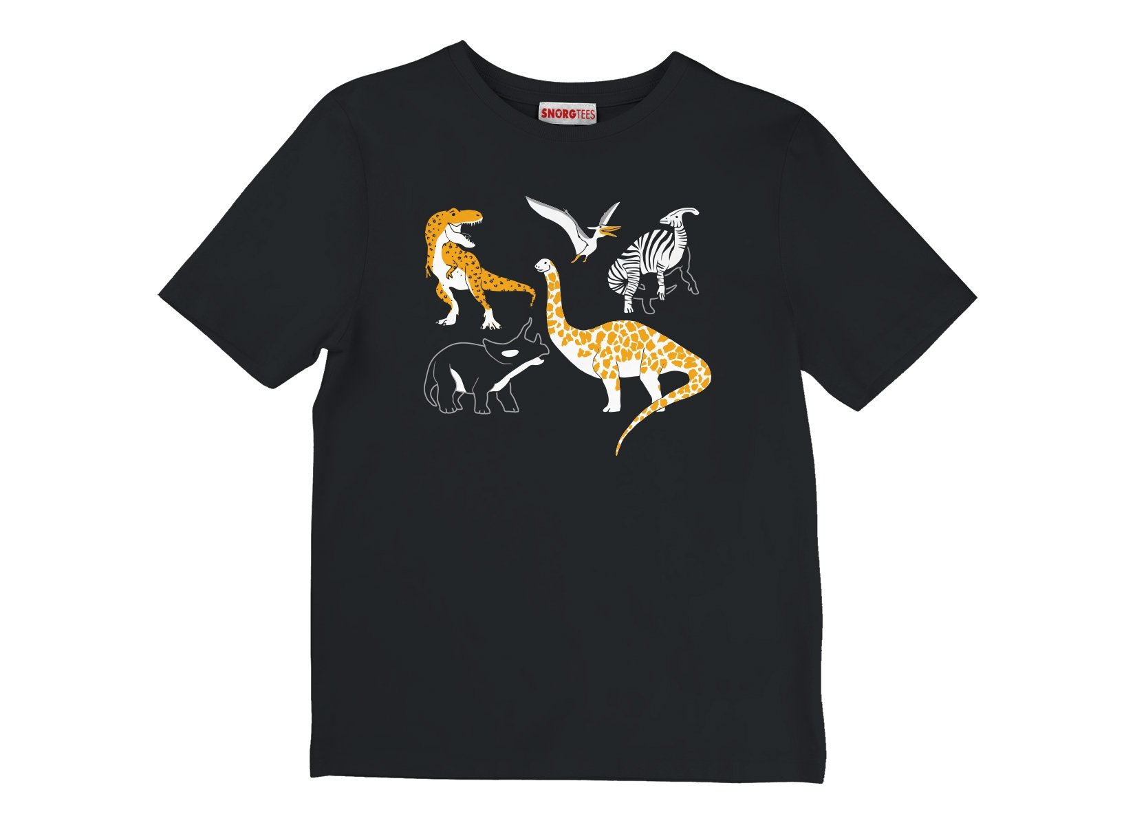 Dino Prints on Kids T-Shirt