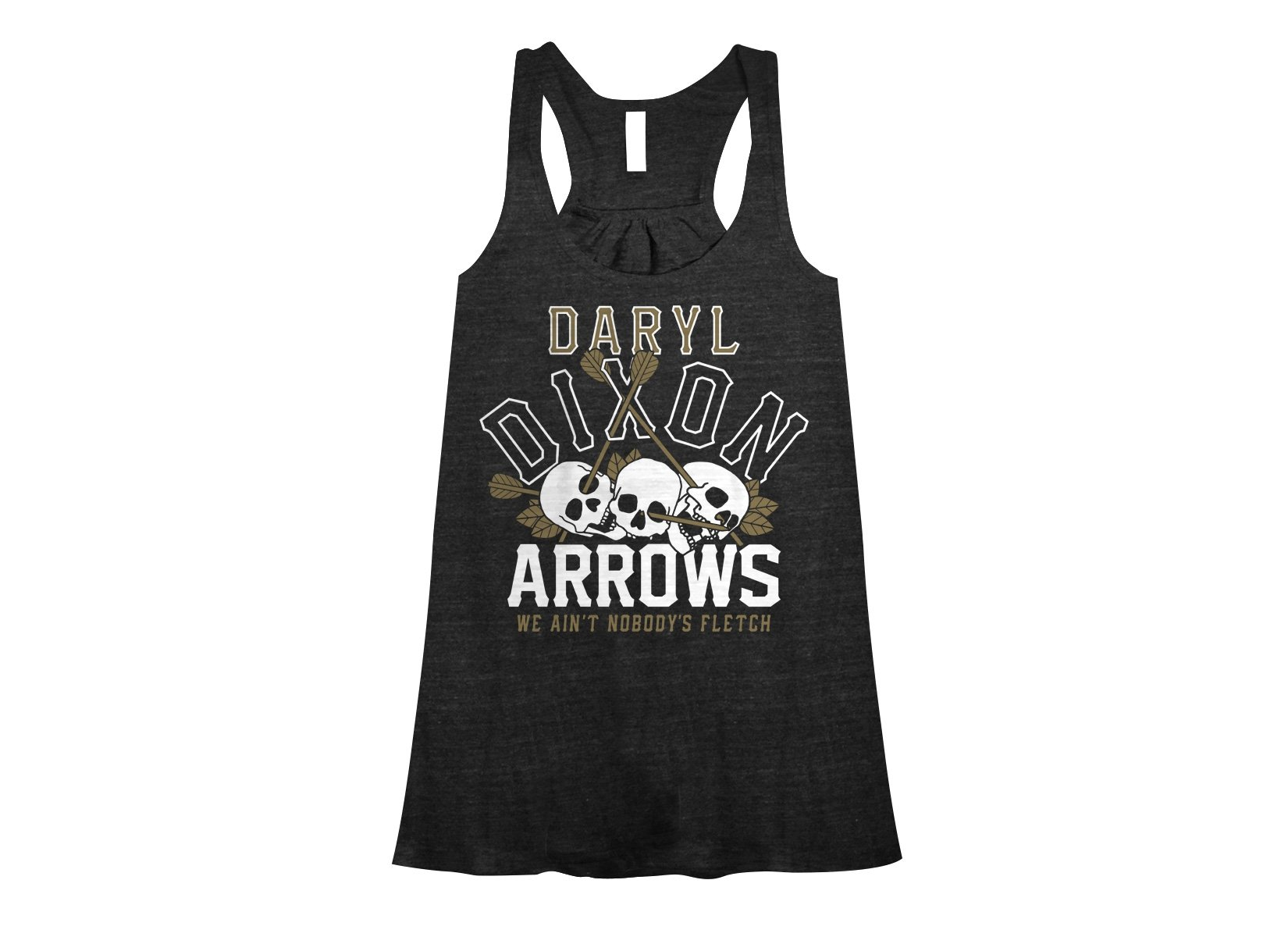 Dixon Arrows on Womens Tanks T-Shirt