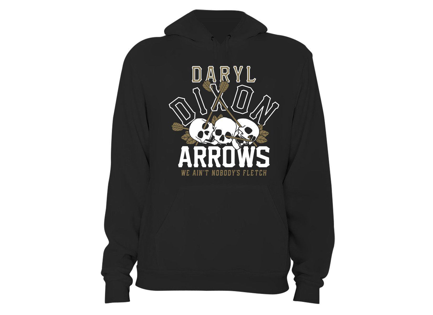 Dixon Arrows on Hoodie