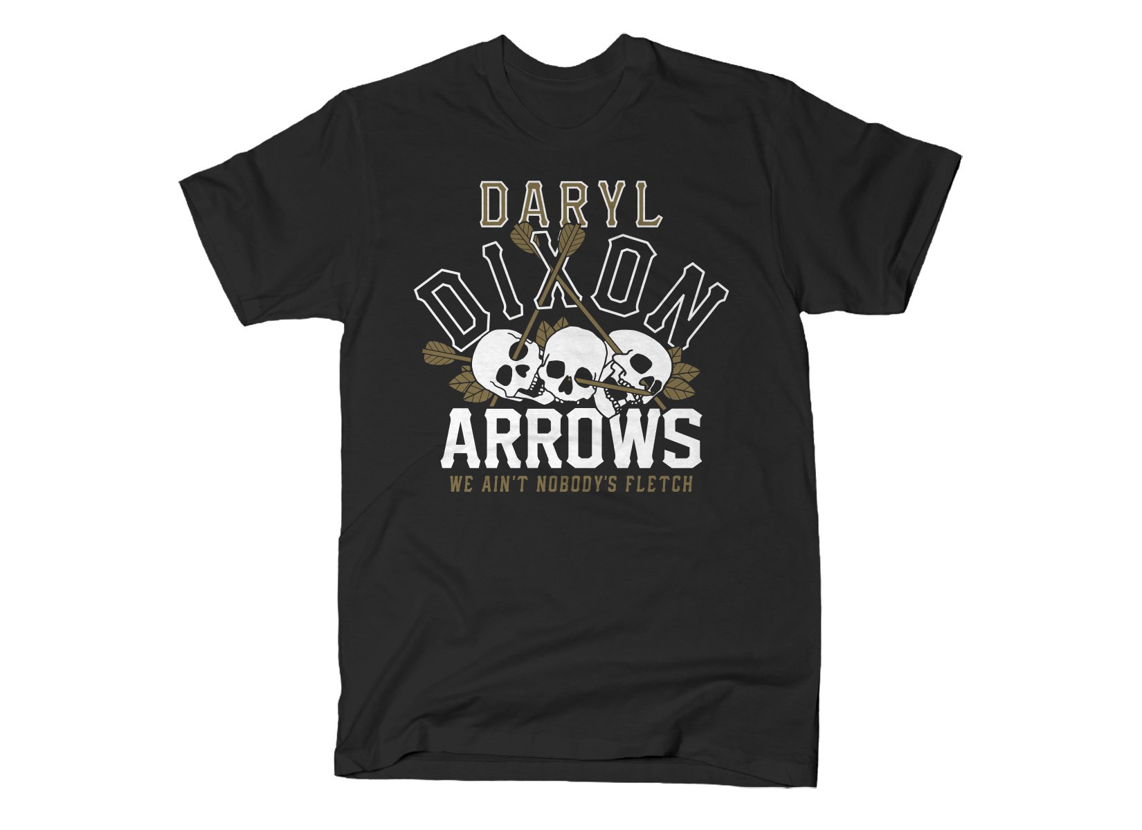 Dixon Arrows on Mens T-Shirt