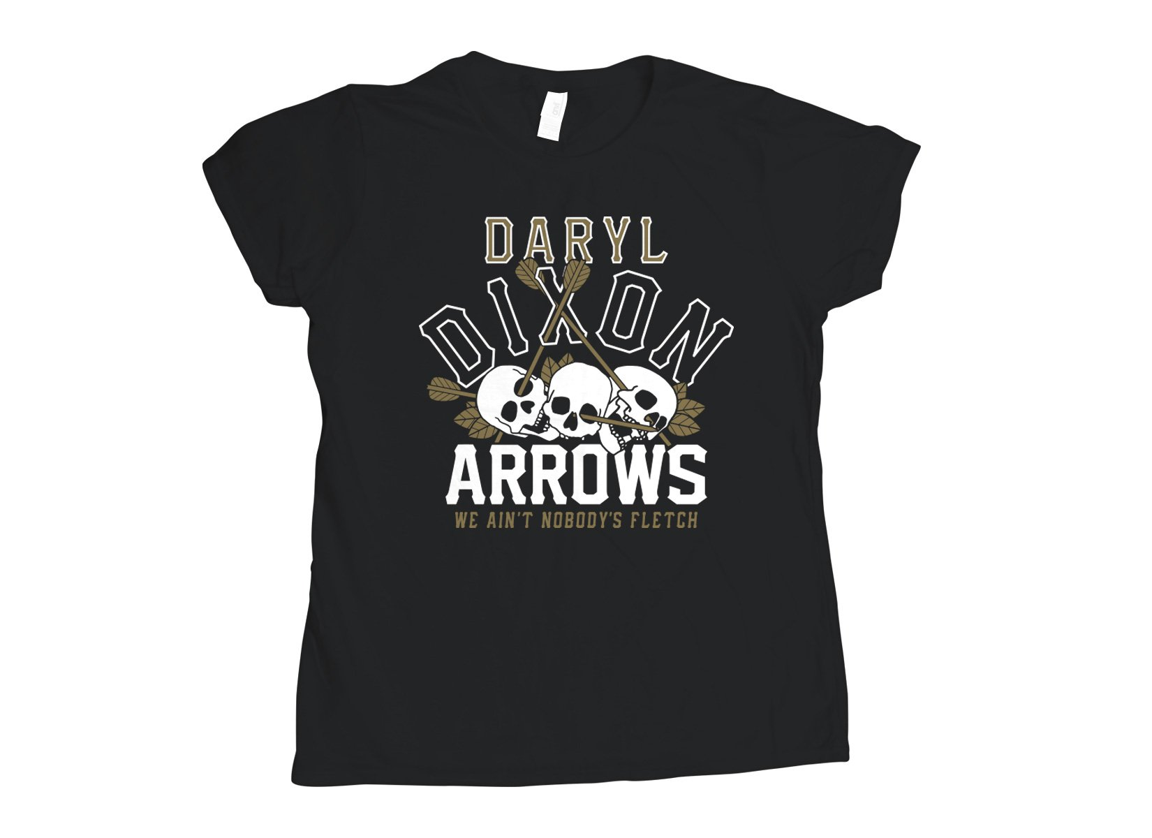 Dixon Arrows on Womens T-Shirt