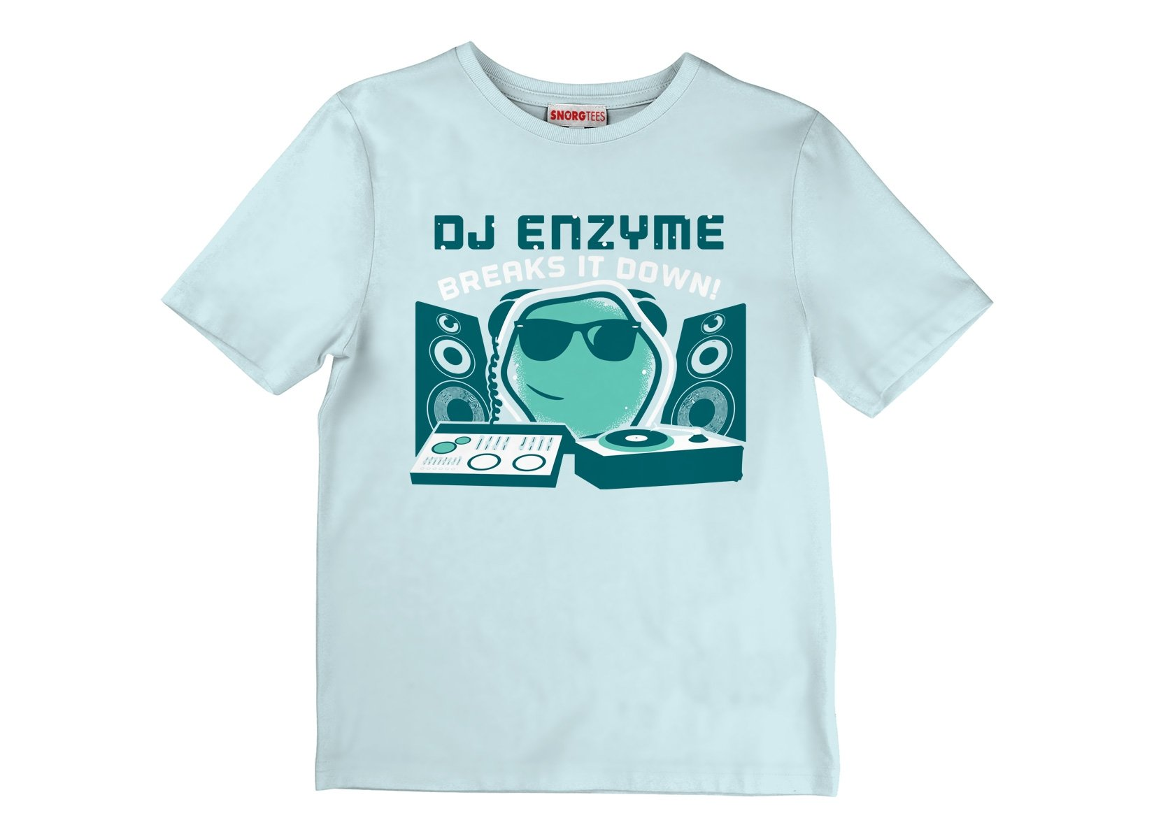DJ Enzyme on Kids T-Shirt
