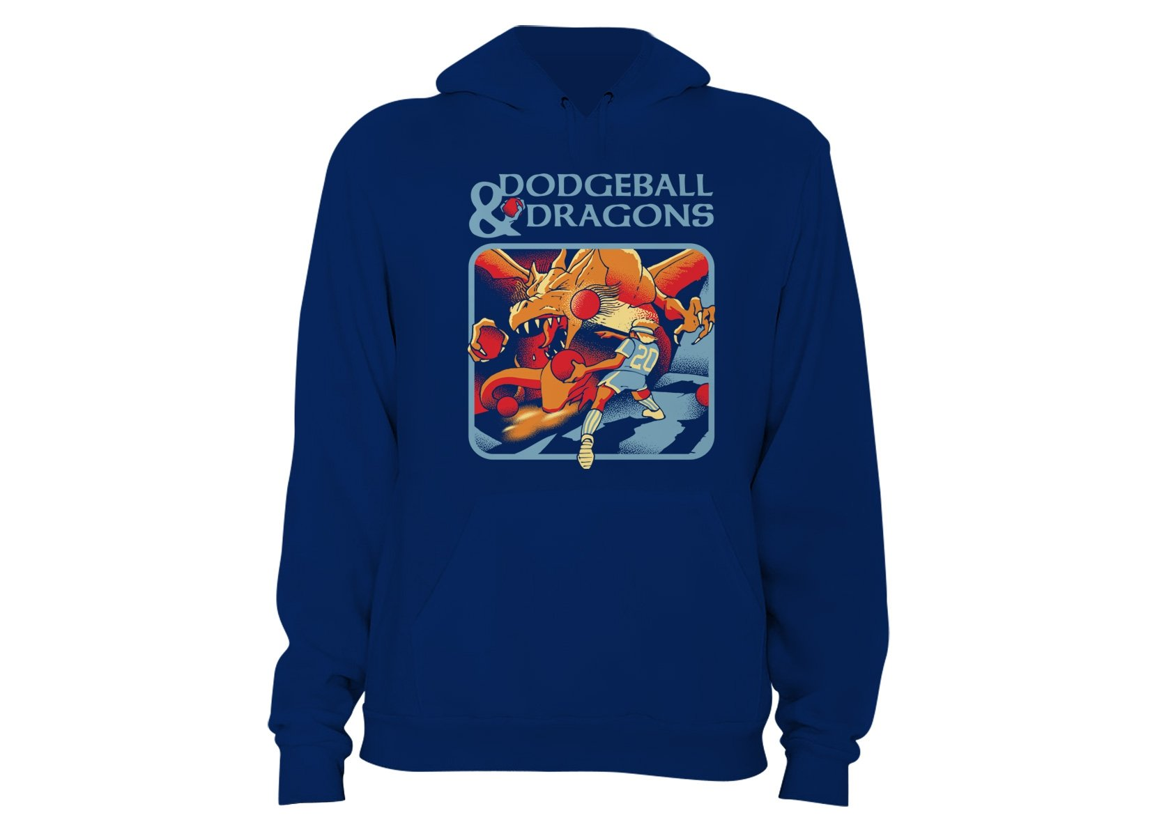 Dodgeball And Dragons on Hoodie