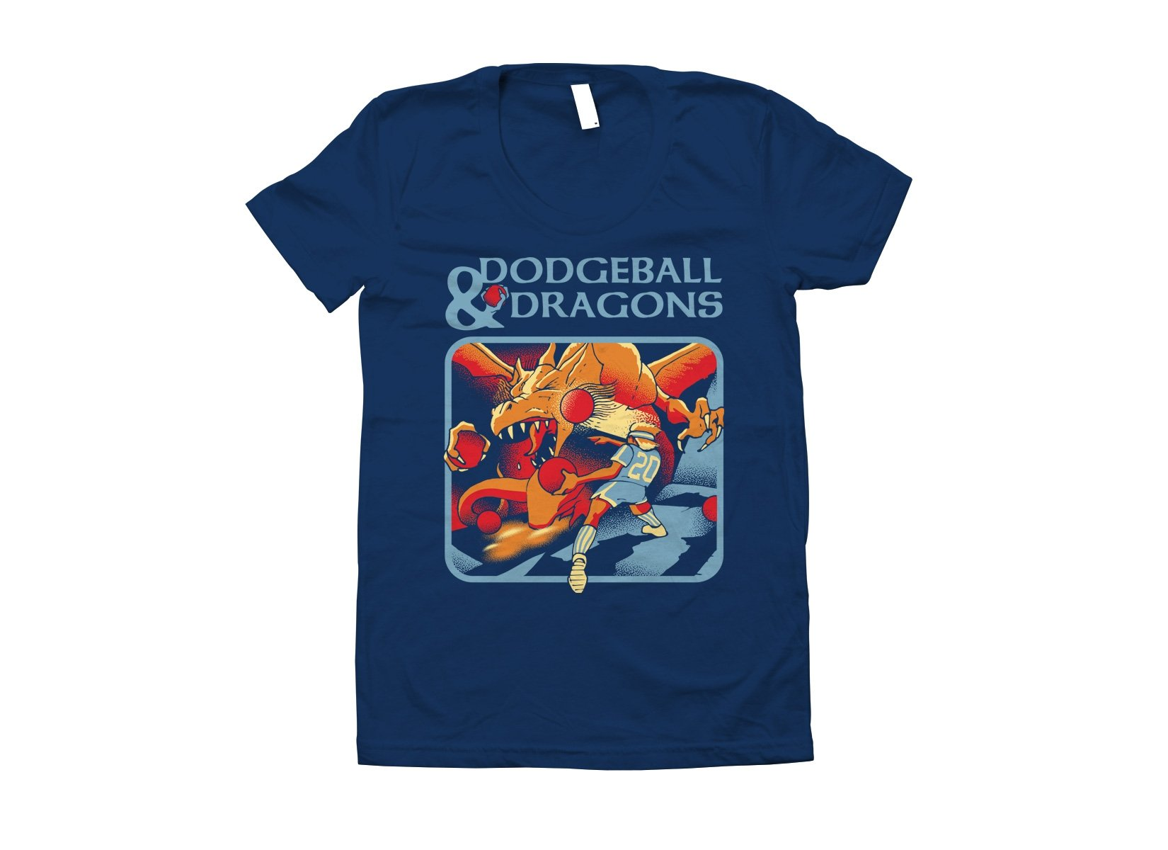 Dodgeball And Dragons on Juniors T-Shirt