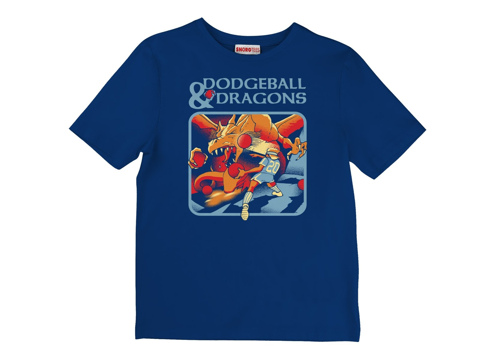 Dodgeball And Dragons on Kids T-Shirt