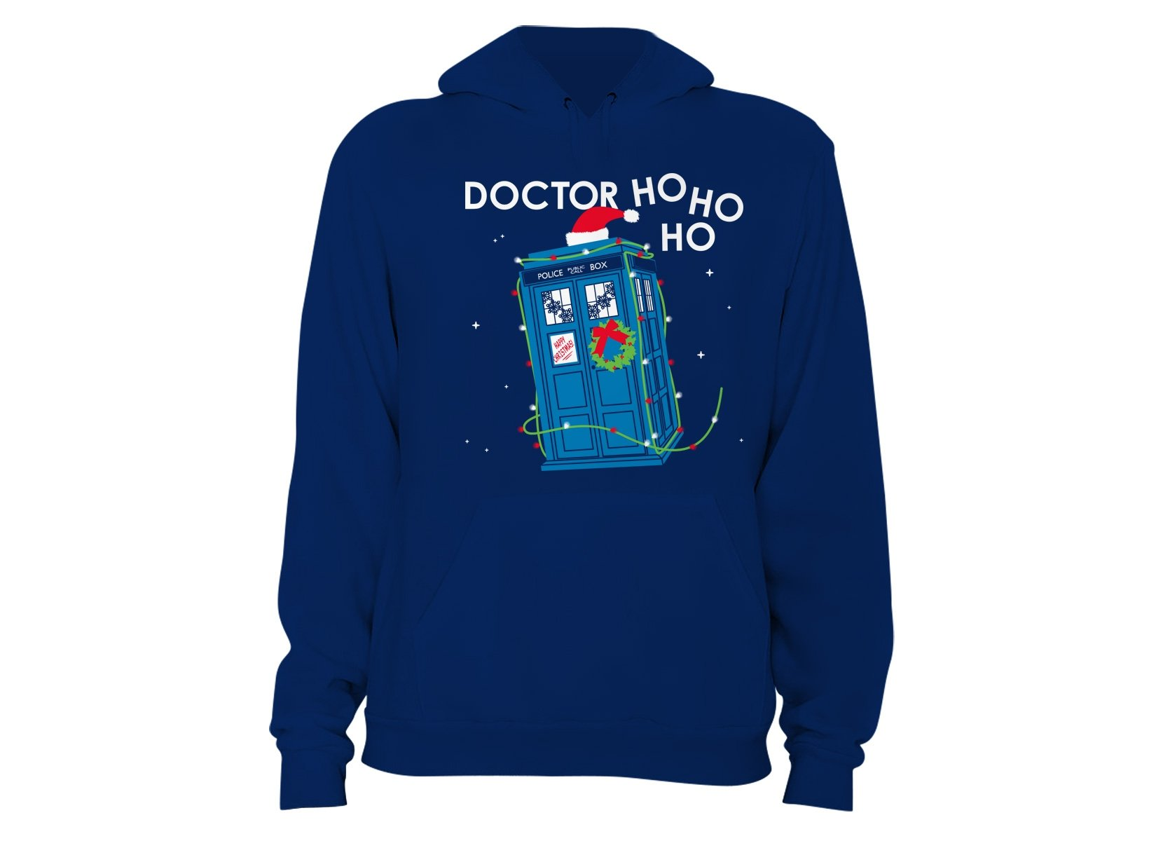 Doctor Ho Ho Ho on Hoodie