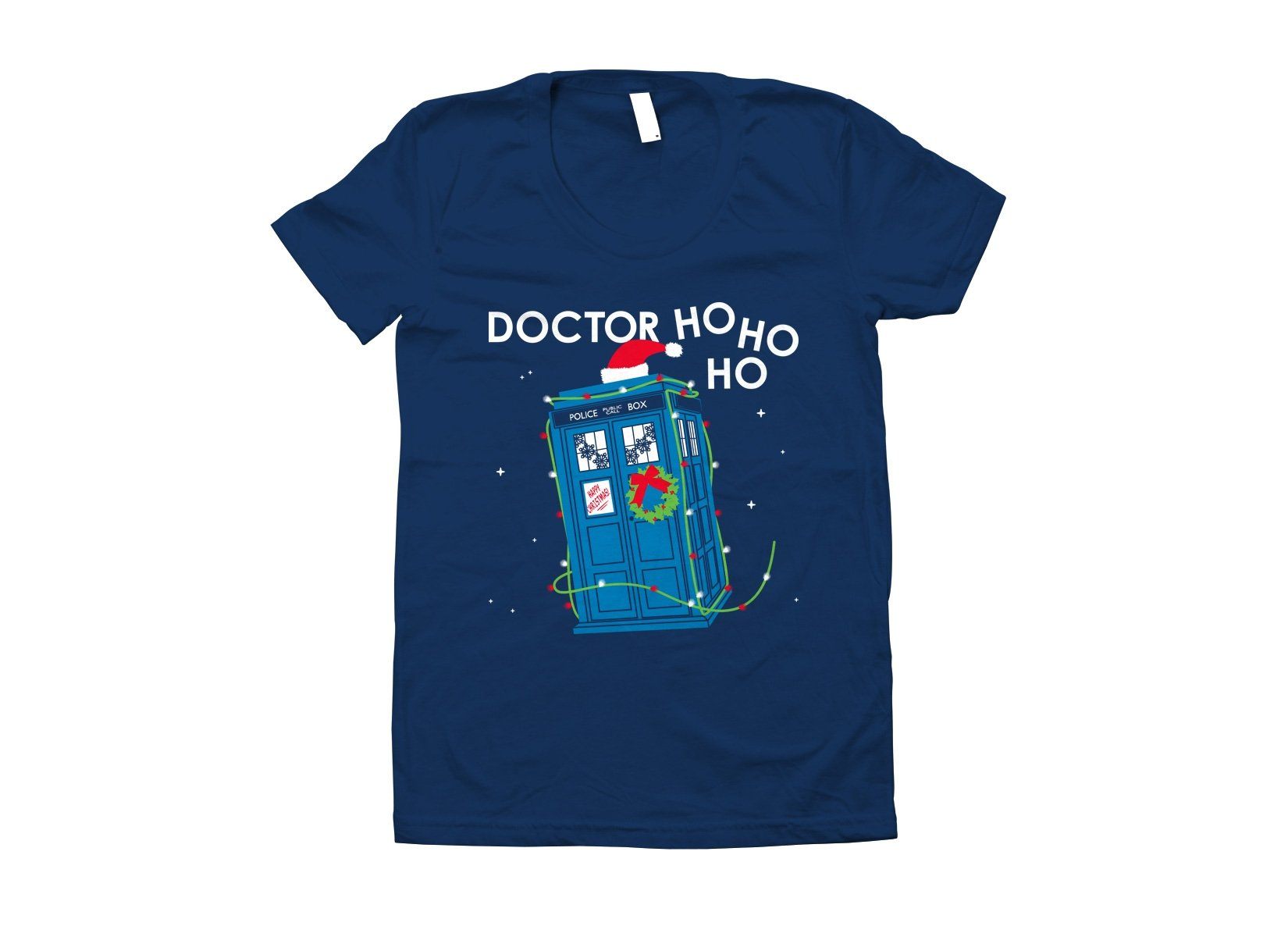 Doctor Ho Ho Ho on Juniors T-Shirt