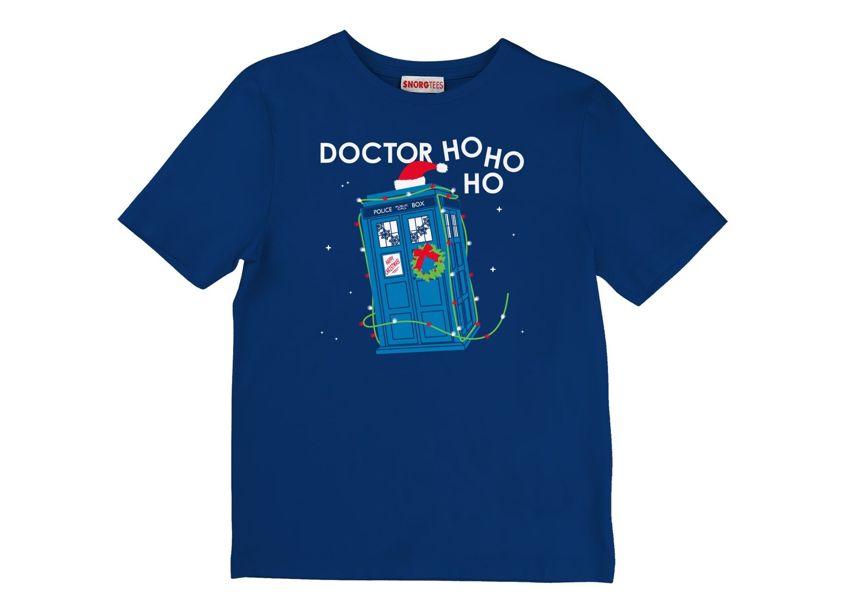 Doctor Ho Ho Ho on Kids T-Shirt