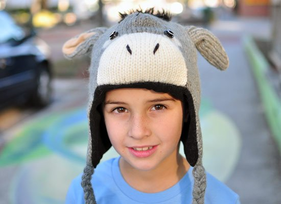 Dwayne The Donkey Hat on Mens Hats