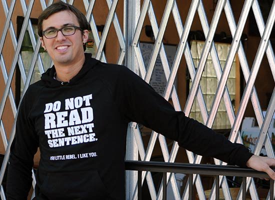 Do Not Read The Next Sentence. on Hoodie