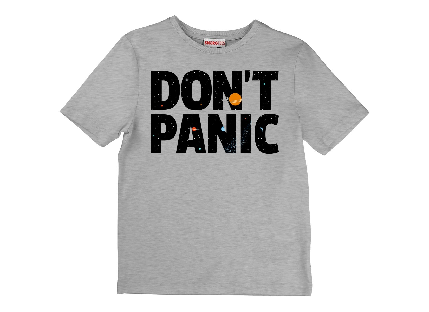 Don't Panic on Kids T-Shirt