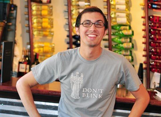 Don't Blink on Mens T-Shirt