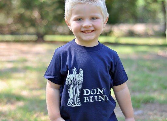 Don't Blink on Kids T-Shirt